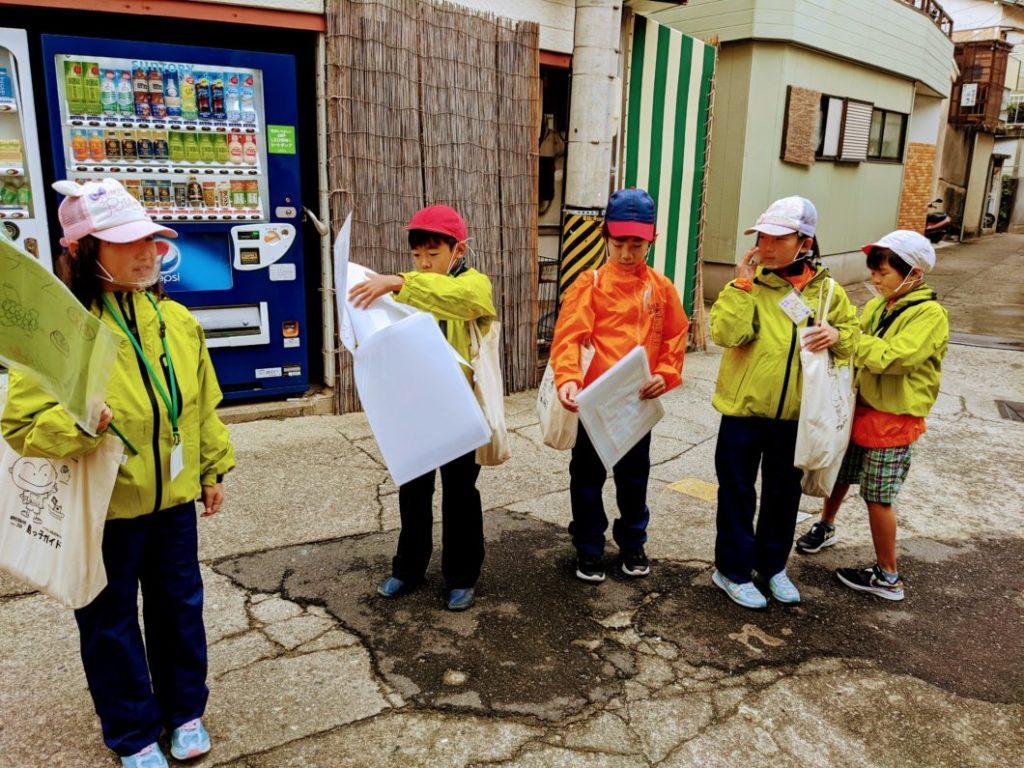2020年度島っ子ガイドフェスティバル緑コースお店の紹介