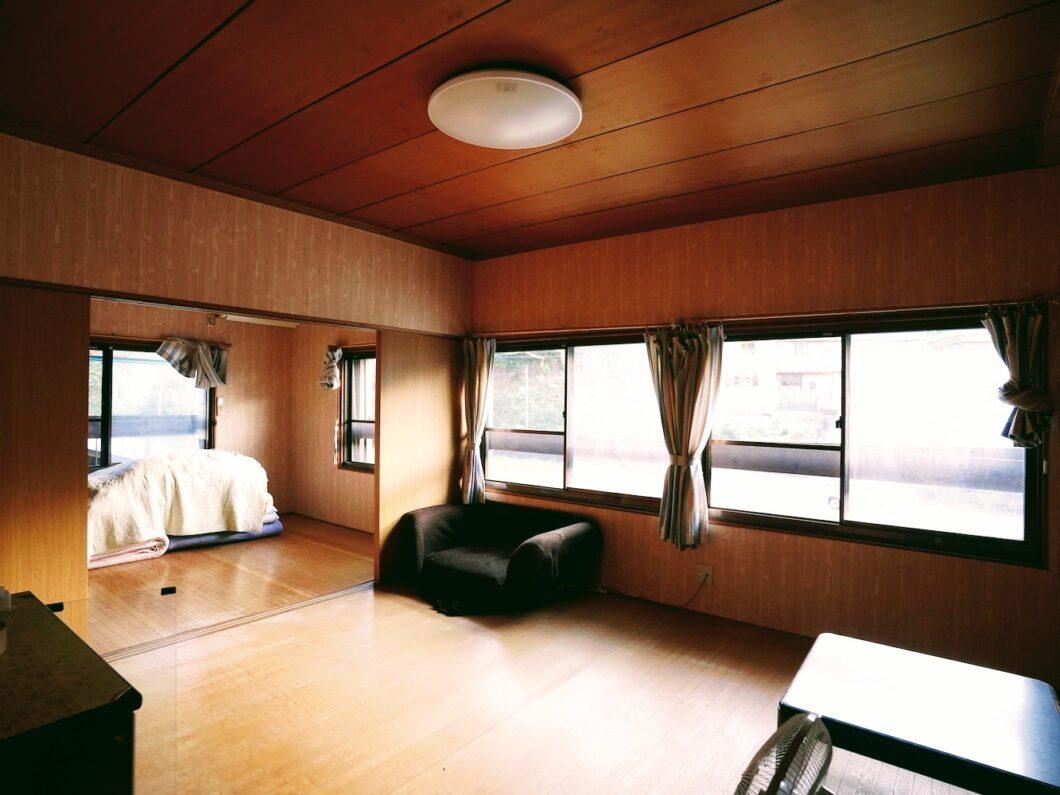 移住モデルハウスとんまの家の二階リビング